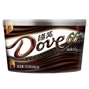 一见钟情-德芙醇黑巧克力味碗装