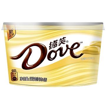 美好记忆-德芙奶香白巧克力味碗装