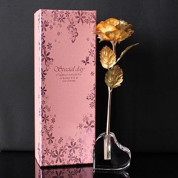 浪漫心情-永不凋谢的金箔玫瑰