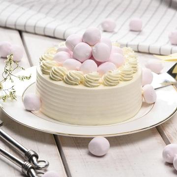 云朵姑娘-棉花糖奶油蛋糕