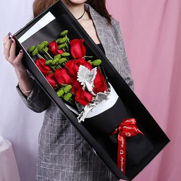 欢乐时光-11朵红玫瑰