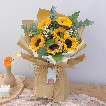 阳光心情-6朵向日葵花束